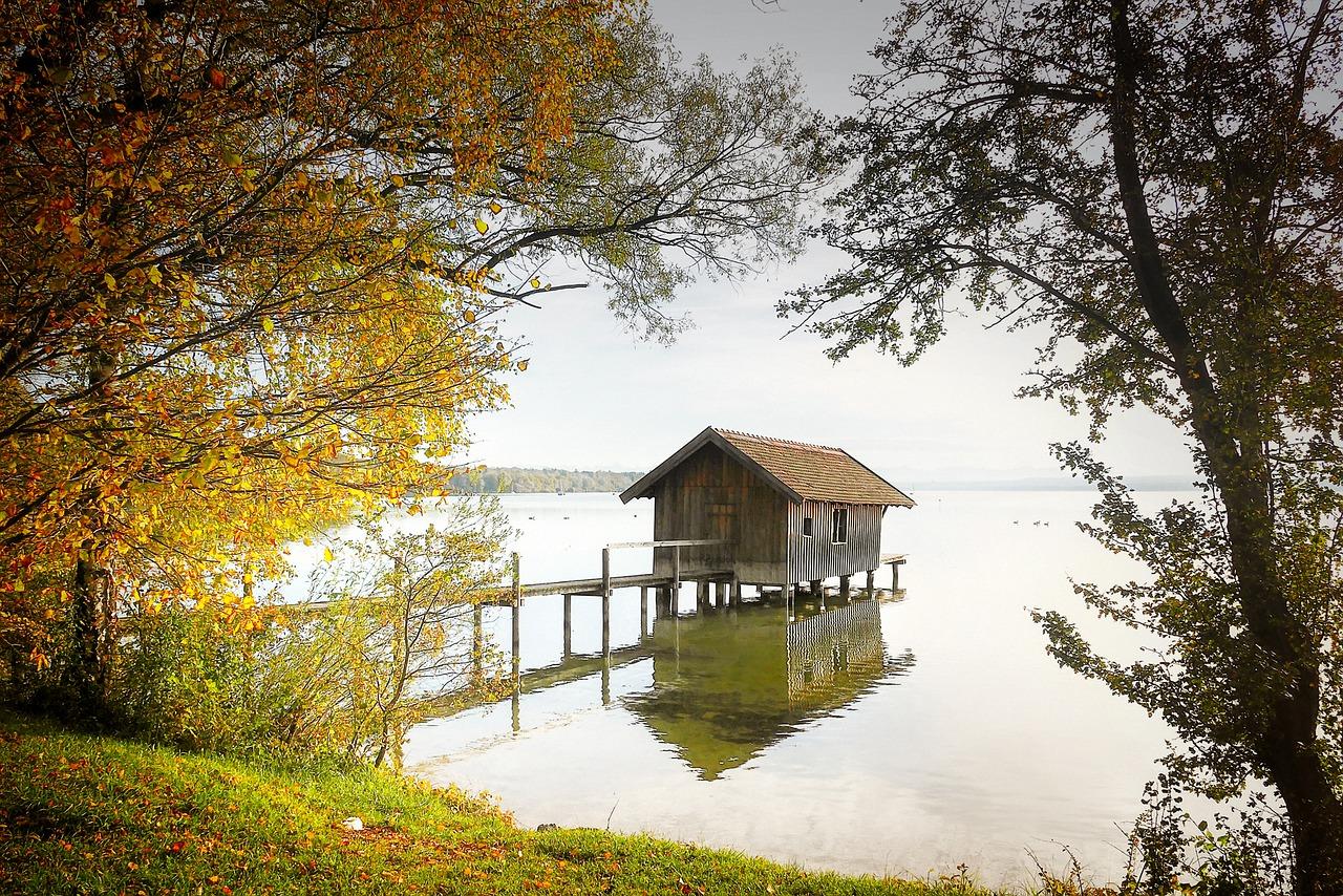 domeček pro rybáře