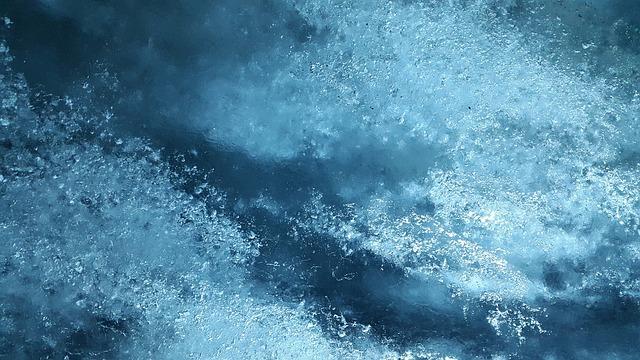 zamrzlá voda